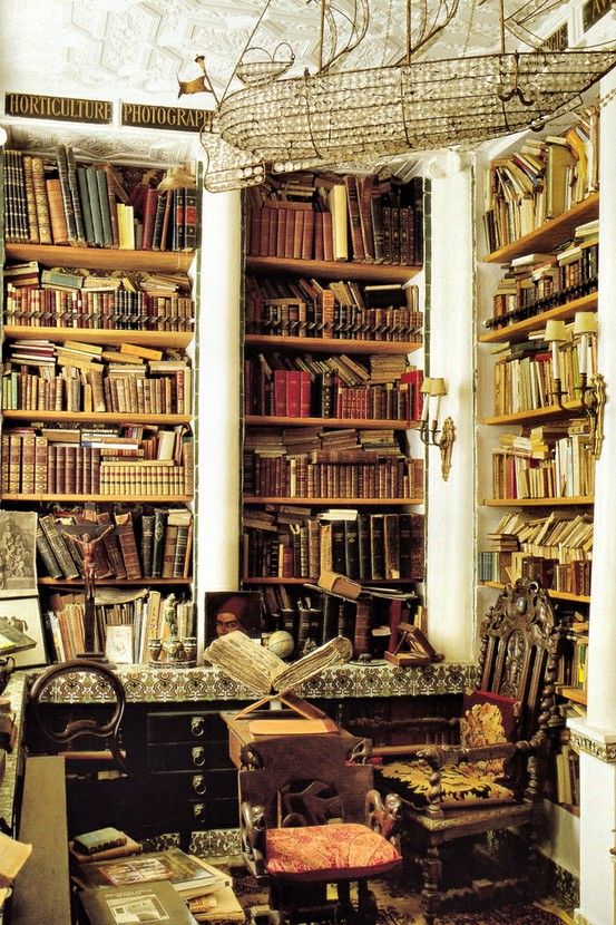 In the stacks two delighted - Home library design ideas for the book lovers ...