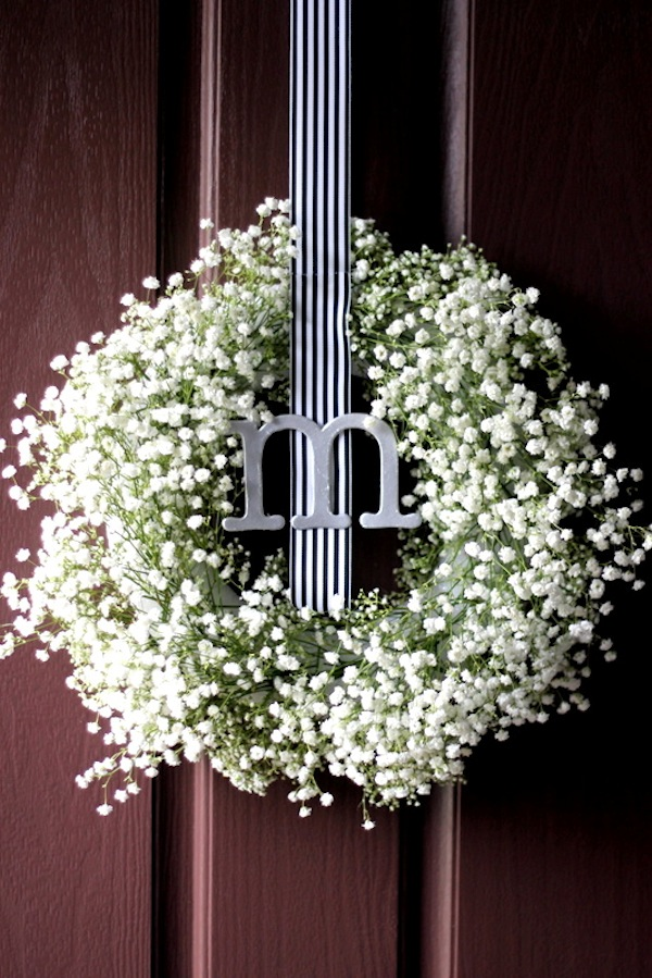 Baby S Breath Wreath Diy Update Two Delighted