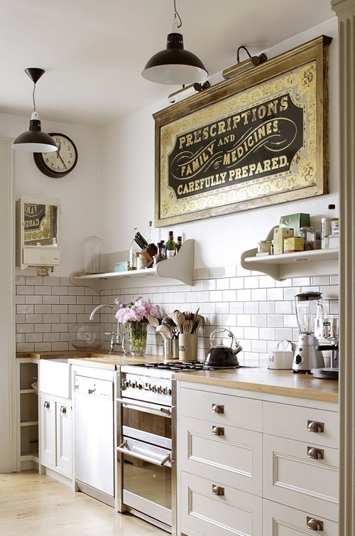 Kitchen vintage quirky two delighted for Picture perfect kitchens