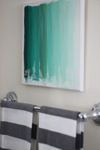 Ombre Art {DIY}