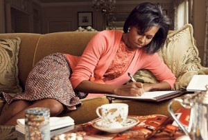 michelle obama writing