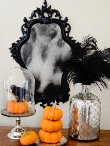 HGTV Ghostly Mirror DIY