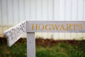 Harry Potter Directional Sign 1