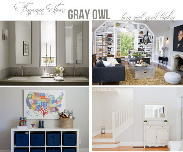 Gray Owl Kids Bathroom Pinterest Benjamin Moore Gray