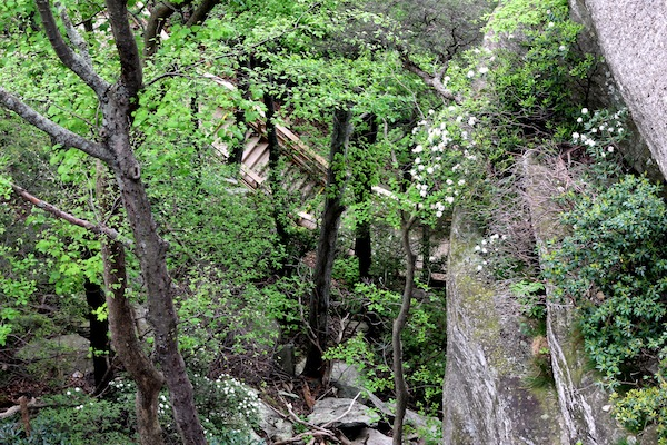 Chimney Rock stairs