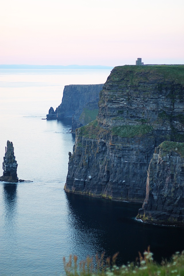 Cliffs of Moher sunset | Two Delighted