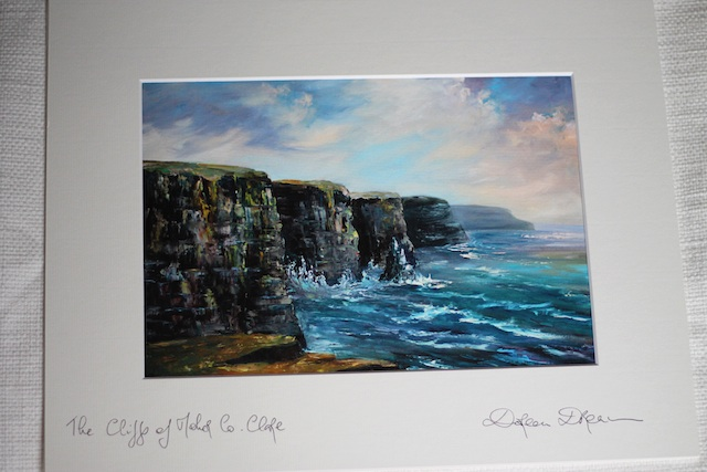 Europe art Cliffs | Two Delighted blog