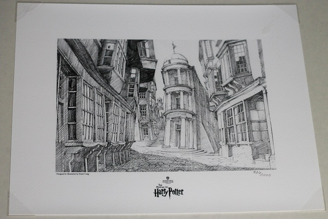 Europe art Diagon Alley | Two Delighted blog