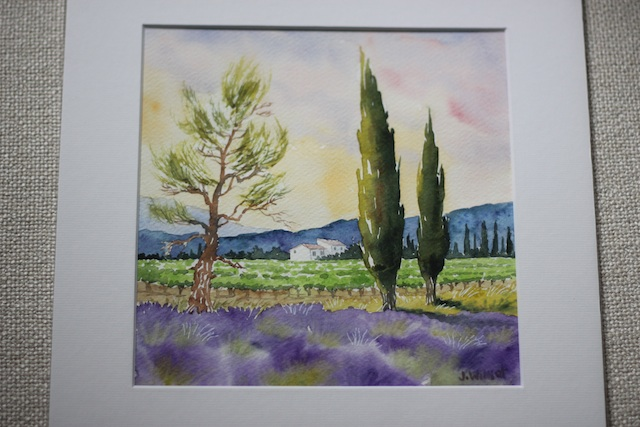 Europe art Provence 1 | Two Delighted