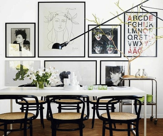 Gallery Wall Puzzle- black and white