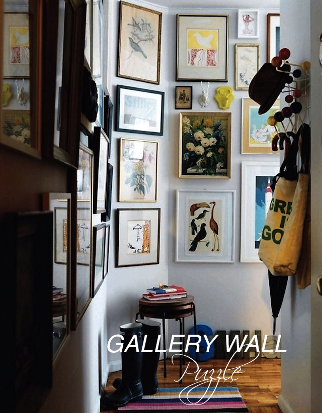 Gallery Wall puzzle | Two Delighted