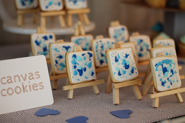 LRT Gender Reveal cookies | Two Delighted