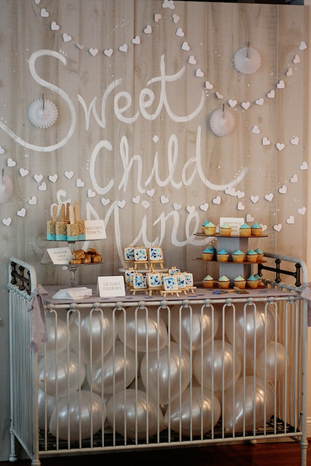 LRT Gender Reveal table | Two Delighted