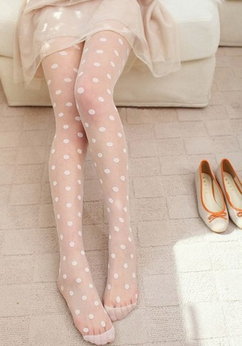 colleen birthday polka-dot-tights