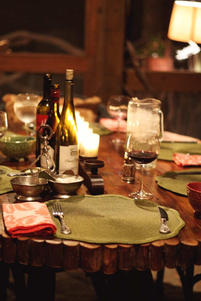 Blowing Rock table | Two Delighted