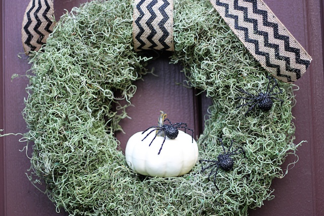 Fall Pumpkin Wreath DIY | Two Delighted