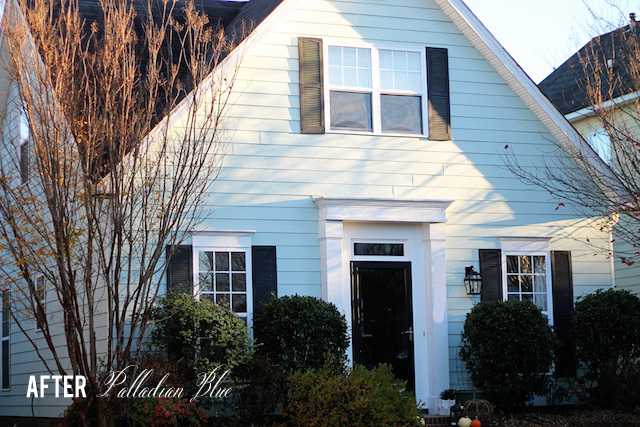 House exterior Palladian Blue | Two Delighted