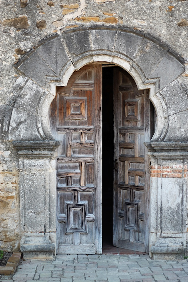 mission espada door | Two Delighted
