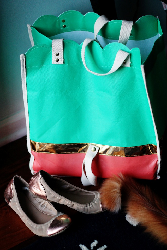 happenings 4.9.14 bag | Two delighted
