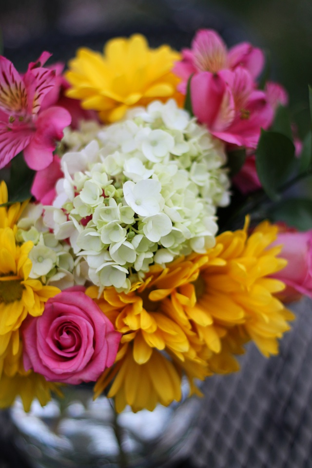 happenings 4.9.14 flowers | Two delighted