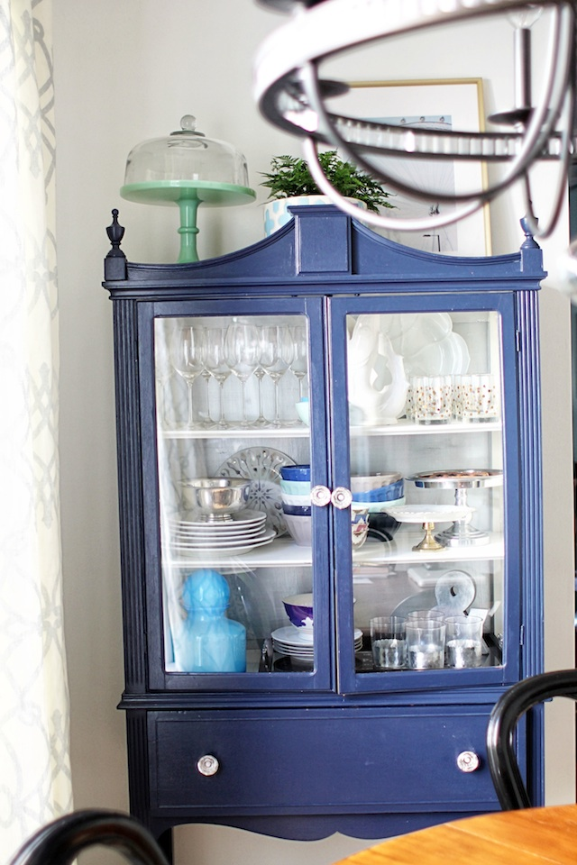 china cabinet straight on | Two Delighted