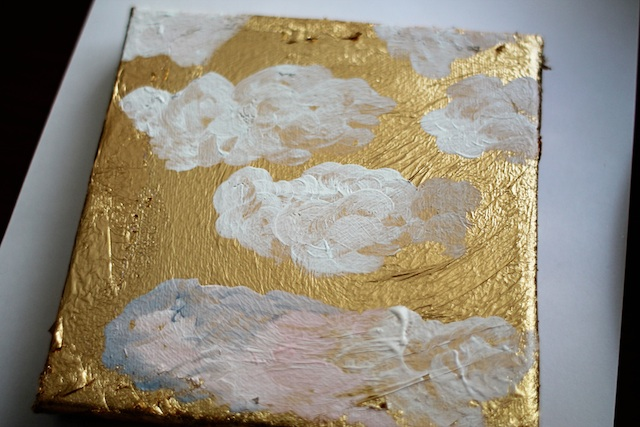 gold cloud art step 6-2 Two Delighted