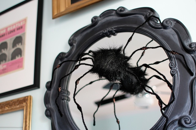 Halloween 2014 big spider blog