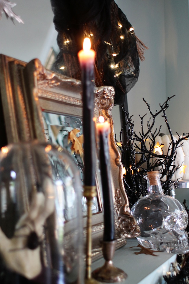Halloween 2014 mantel side blog