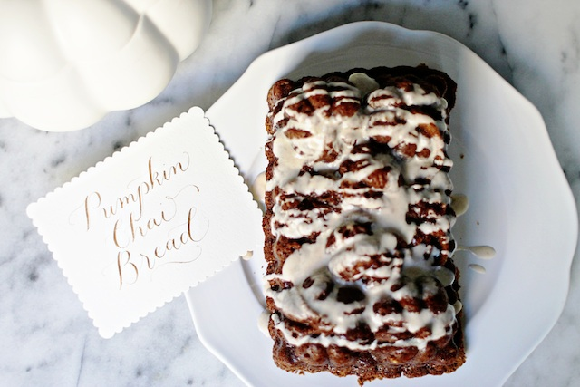 pumpkin chai bread intro blog