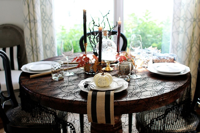 witch tablescape whole blog
