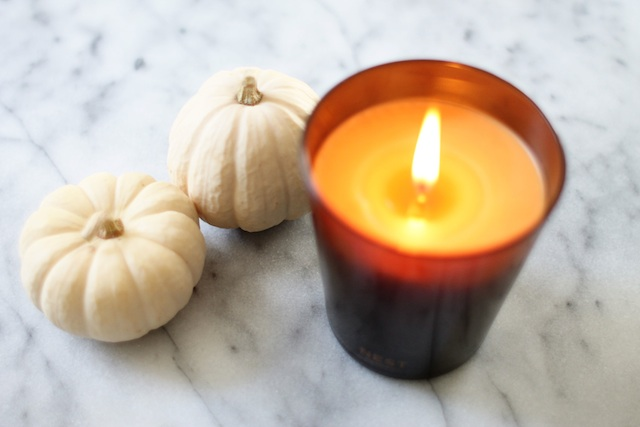october things candle Two Delighted