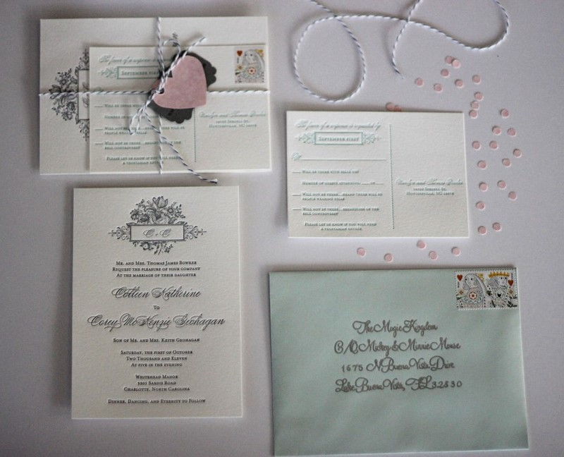 Fancying up your wedding invitations {DIY} – Two Delighted