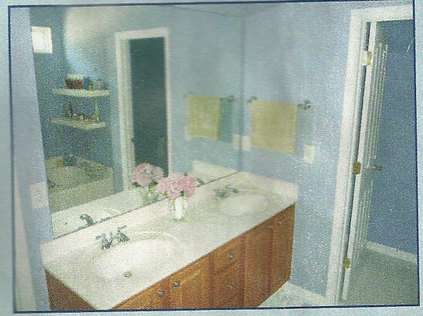 certainly - Painted Bathroom Cabinets Before And After
