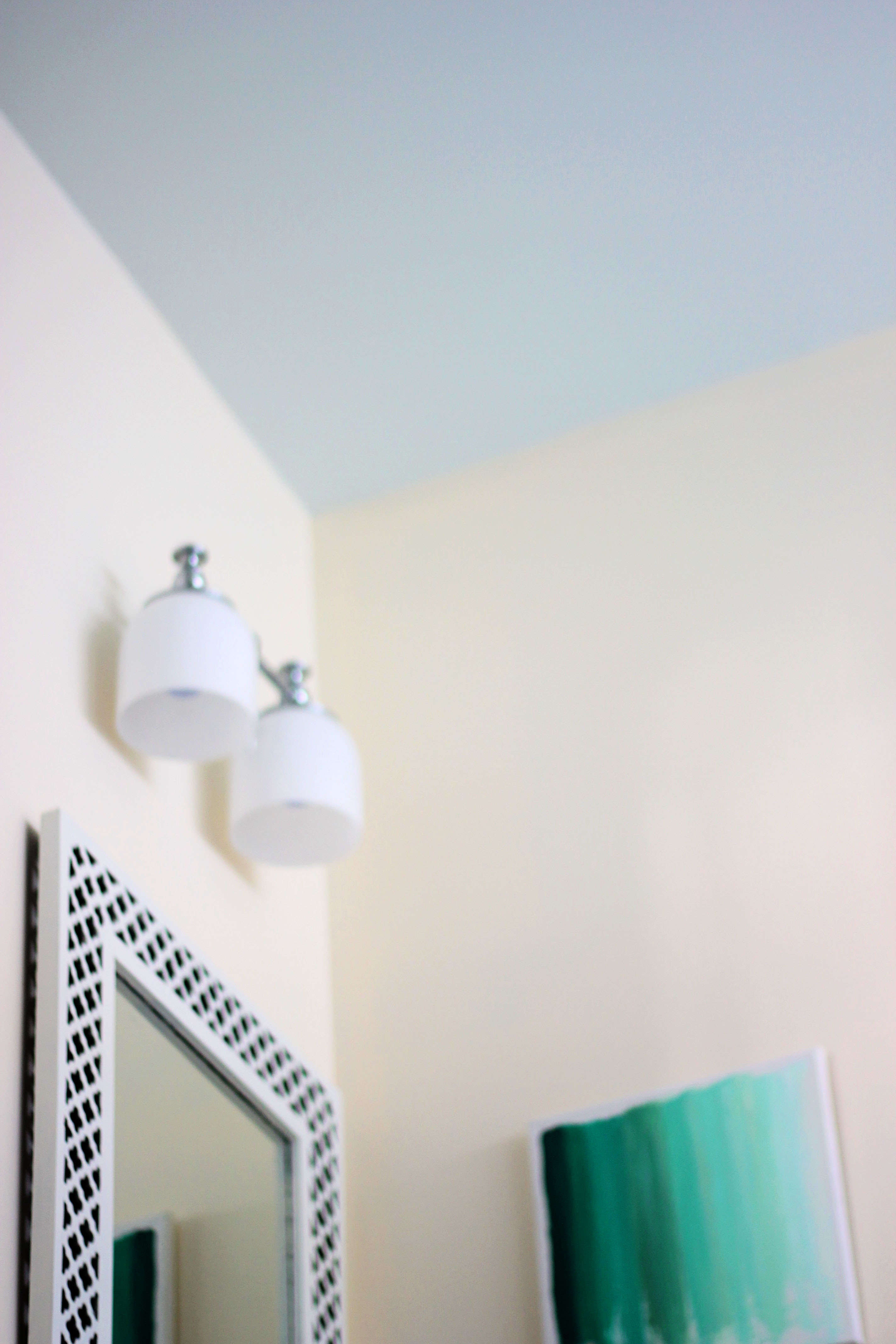Primer for bathroom ceiling - So You Can See The Ceiling