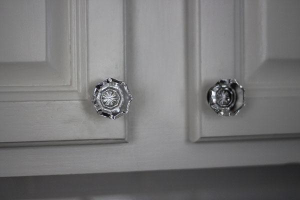 kitchen crystal knobs