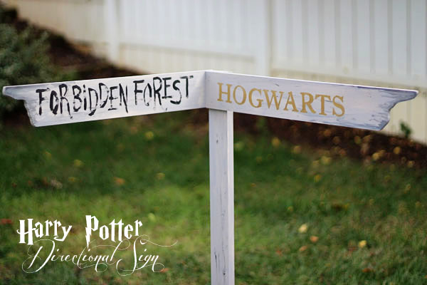 Top Harry Potter Directional Sign {DIY} – Two Delighted MZ08