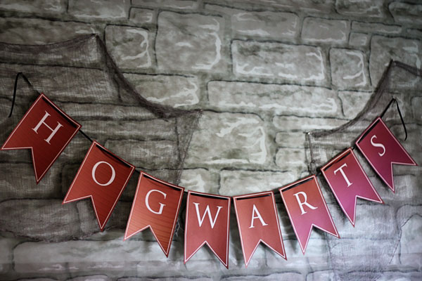 graphic regarding Hogwarts Banner Printable titled Harry Potter Occasion 2 Happy