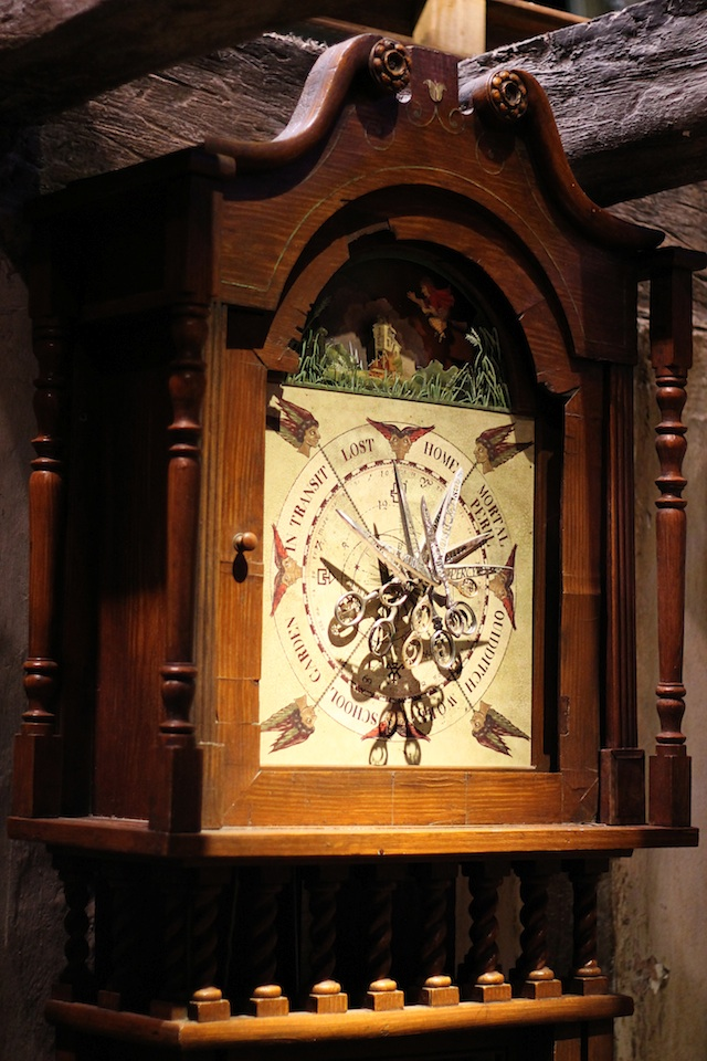 HarryPotter burrow clock | Two Delighted